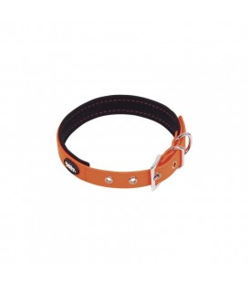 COLLAR NEON ORANGE 35-45x20mm