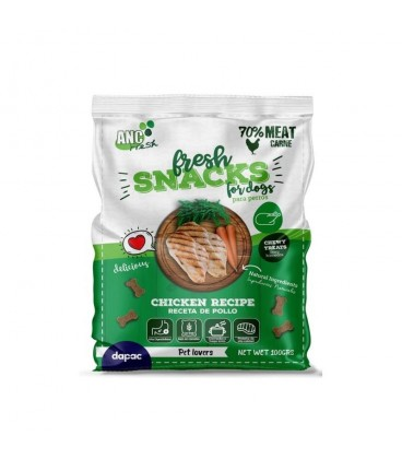 SNACKS FRESH POLLO 100 Gr