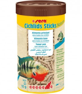 SERA CICHLIDS STICKS NATURE 250m