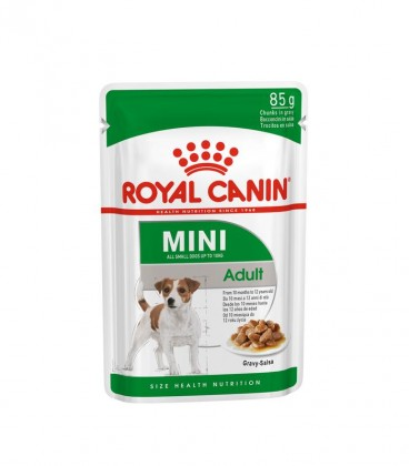 RC DOG MINI ADULT 85Gr POUCHES