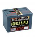 PILA FORZZA 9V. 1000W/h ALCALINA