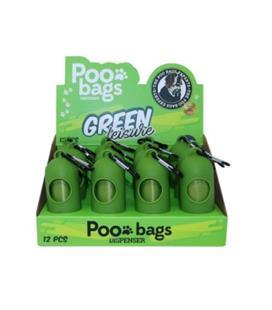 PORTA POO BAGS GREEN LEISURE