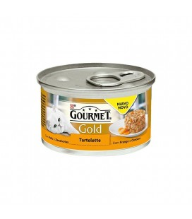 GOURMET GOLD TARTA- POLLO Y ZANAHORIA 85 gr
