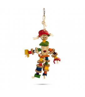 TOY BIRD SCARECROW MULTI COLOR